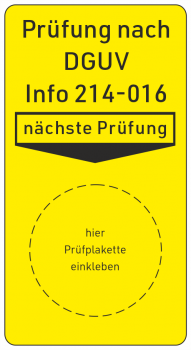 Containerprüfung DGUV Information 214-016