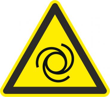 Warnung vor automatischem Anlauf