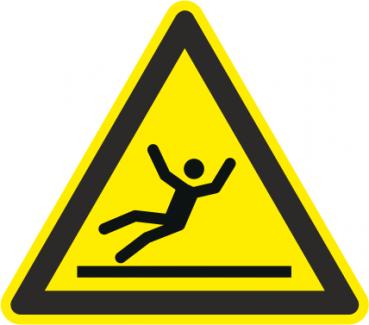 Warnzeichen Rutschgefahr