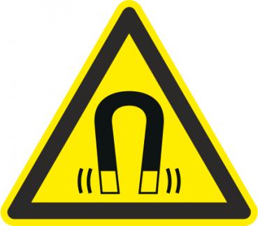 Warnschild Magnetfeld