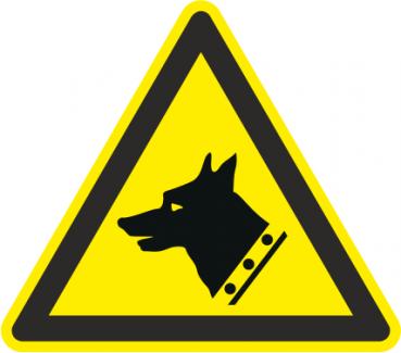 Schild Vorsicht Wachhund