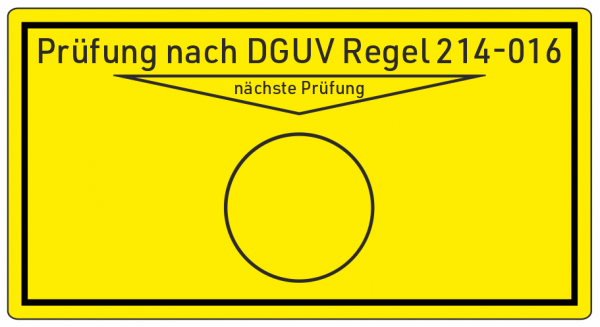 Containerprüfung DGUV Info 214-016